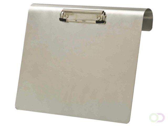 Image of Klembord LPC aluminium A4 liggend 120mm met klem+hangbeugel (8713593621102)